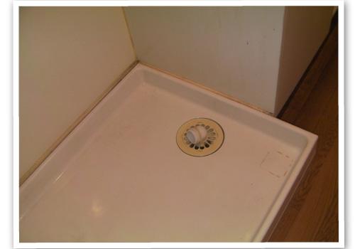 洗濯機置場 ハウスクリーニング後
