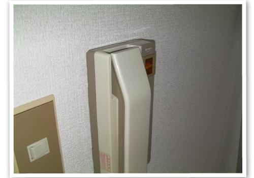 インターフォン室内子機 ハウスクリーニング後
