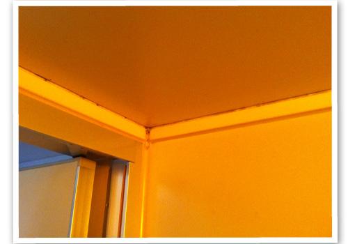 浴室の天井 ハウスクリーニング前