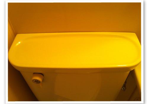 トイレのタンク ハウスクリーニング後