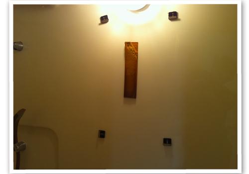 浴室の鏡の裏側 ハウスクリーニング後