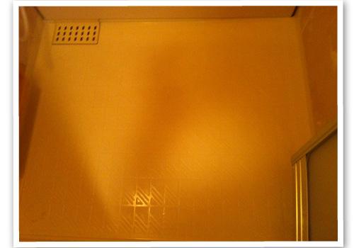 浴室の床 ハウスクリーニング後