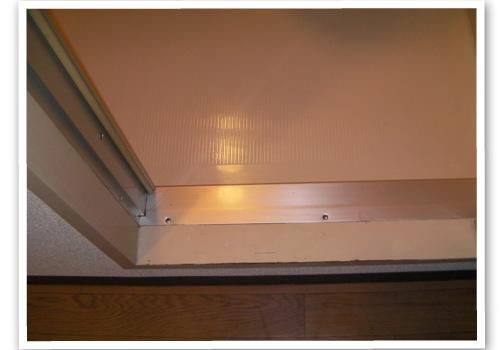 浴室のドア枠 ハウスクリーニング後