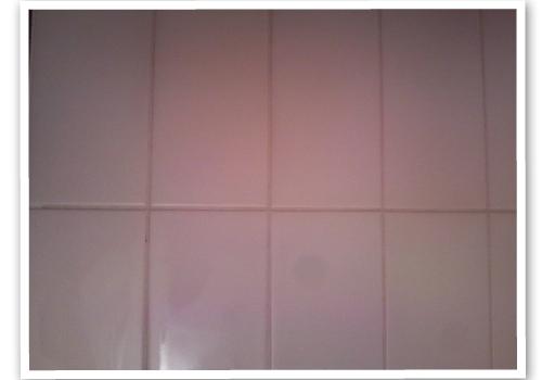 浴室のタイル目地 ハウスクリーニング後