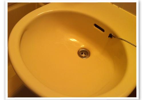 洗面台 ハウスクリーニング後